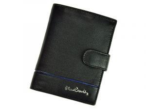 Pánská kožená peněženka Pierre Cardin Philippe – černo-modrá 11242