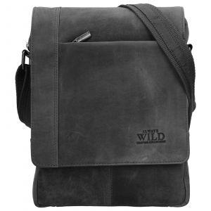 Pánská taška přes rameno Always Wild Artair – černo-šedá 110229