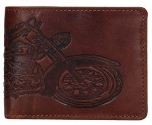 Lagen Pánská kožená peněženka 6535 Brown mla0852