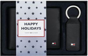 Tommy Hilfiger Dárková sada kožené peněženky a přívěsku Eton Cc And Coin Pckt Keyfob Box AM0AM01183002 mth1703
