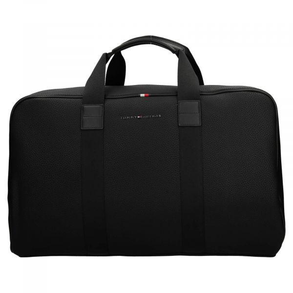 Pánská cestovní taška Tommy Hilfiger Roben – černá 110520