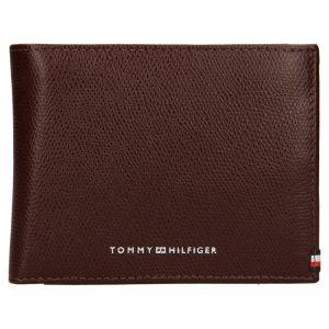 Pánská kožená peněženka Tommy Hilfiger Devon – hnědá 110512