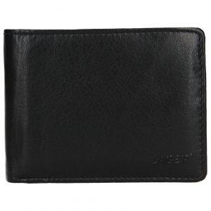 Pánská kožená peněženka Lagen Aleš – černá 110535