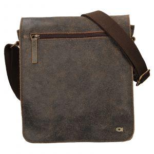 Pánská kožená taška Daag Joel – hnědá 110498