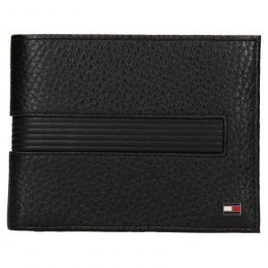 Pánská kožená peněženka Tommy Hilfiger Merone – černá 110561