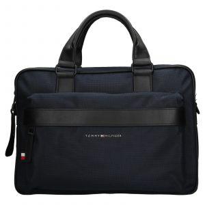 Pánská taška na notebook Tommy Hilfiger Naden – modrá 110576