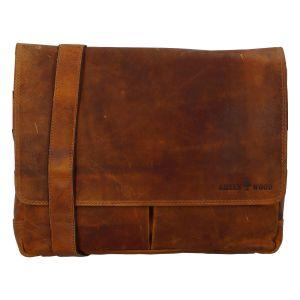 Pánská kožená taška světle hnědá – Greenwood Rewrite hnědá 270636