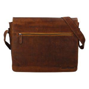 Pánská kožená taška světle hnědá – Greenwood Manifico hnědá 271218