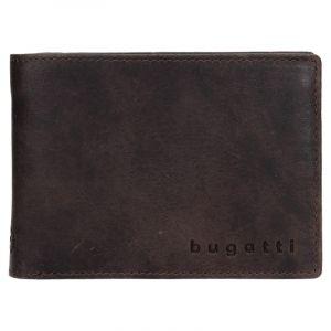 Pánská kožená peněženka Bugatti Ulrich – tmavě hnědá 13130