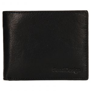Pánská kožená peněženka SendiDesign Igor – černá 110603