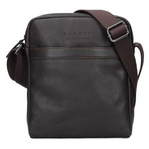 Pánská kožená taška přes rameno Bugatti Partier – hnědá 16449