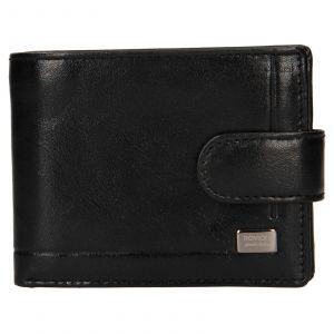 Pánská kožená peněženka Rovicky Fabio – černá 110615