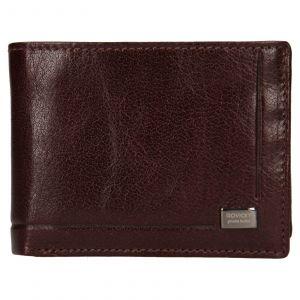Pánská kožená peněženka Rovicky Kamil – hnědá 110614
