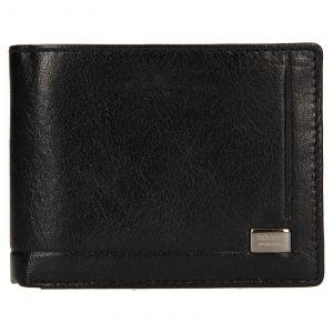 Pánská kožená peněženka Rovicky Kamil – černá 110613