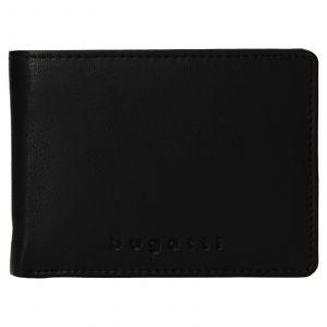 Pánská kožená peněženka Bugatti Hanke – černá 110611
