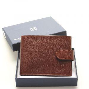 Luxusní pánská hnědá kožená peněženka – Hexagona Hestia hnědá 92226