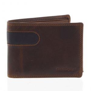Business pánská kožená peněženka hnědá – SendiDesign Joel hnědá 165286