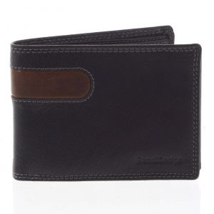 Business pánská kožená peněženka černá – SendiDesign Joel černá 165288