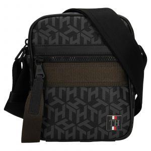 Pánská taška přes rameno Tommy Hilfiger Karl – zeleno-černá 110608
