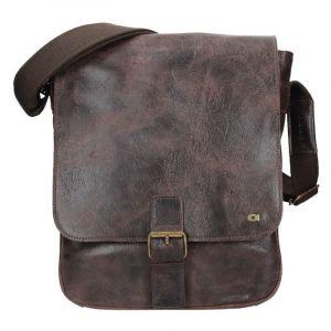 Pánská taška Daag JAZZY WANTED 9 – tmavě hnědá 1182