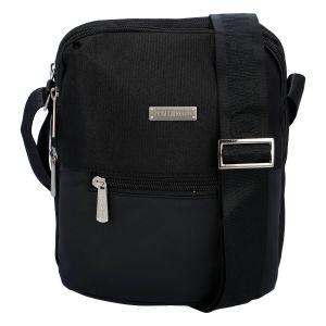 Moderní pánská taška na doklady černá – Coveri Liam černá 276554