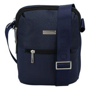 Moderní pánská taška na doklady tmavě modrá – Coveri Liam tmavě modrá 276556