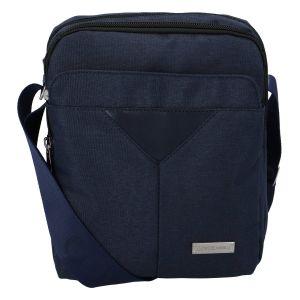 Moderní pánská taška na doklady tmavě modrá – Coveri Christopher tmavě modrá 276567
