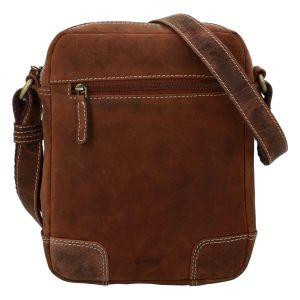 Pánská kožená taška přes rameno Diviley Dylen – koňak 110680