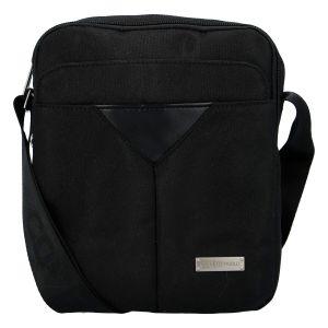 Moderní pánská taška na doklady černá – Coveri Christopher černá 276822