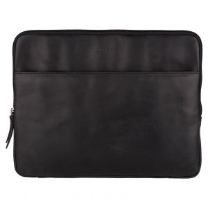 """Kožený obal na notebook 13,3"""" Burkely Robin – černá 110686"""