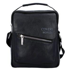 Pánská taška na doklady černá – Coveri Kevin černá 277283