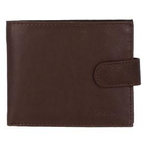 Pánská kožená hnědá peněženka – Delami 9371 hnědá 277676