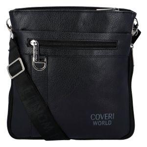 Pánská taška na doklady černá – Coveri Dylan černá 277630