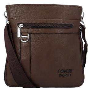Pánská taška na doklady hnědá – Coveri Dylan hnědá 277632