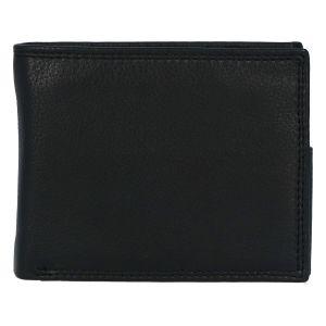 Kožená pánská černá peněženka – ItParr New černá 279531