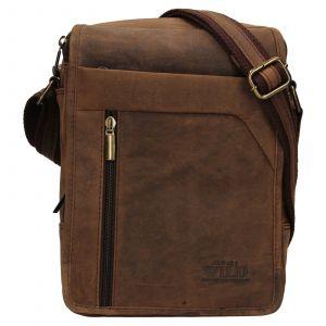 Pánská taška přes rameno Always Wild Norbel – hnědá 110697