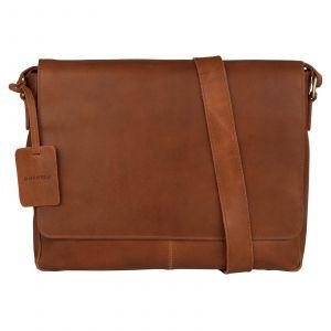 Pánská kožená taška přes rameno Burkely Juul – koňak 110709