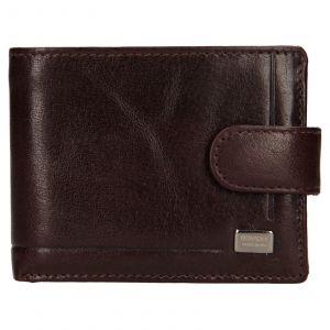 Pánská kožená peněženka Rovicky Fabio – hnědá 110705