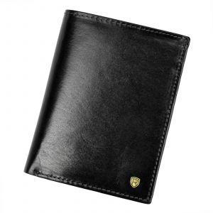 Pánská kožená peněženka Rovicky Victor – černá 110720