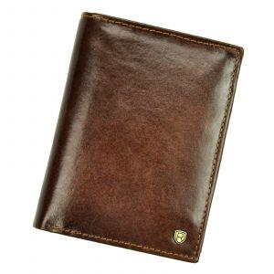 Pánská kožená peněženka Rovicky Victor – hnědá 110719