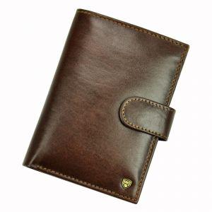 Pánská kožená peněženka Rovicky Marty – hnědá 110717