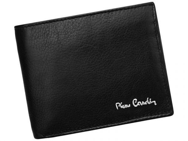 Pánská kožená peněženka Pierre Cardin Paule – černá 11385
