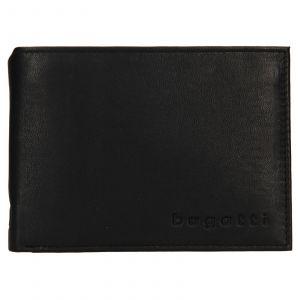 Pánská kožená peněženka Bugatti Berle – černá 110727