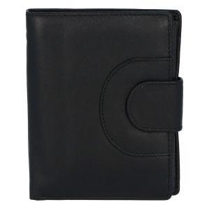 Elegantní kožená peněženka černá – Tomas Pilia černá 280917