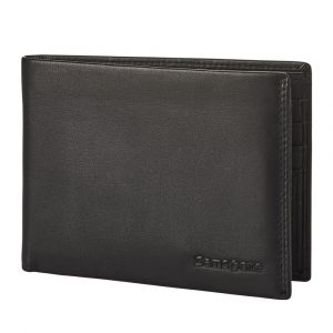 Samsonite Pánská kožená peněženka Attack 2 SLG 005 – černá p55164