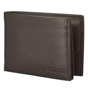 Samsonite Pánská kožená peněženka Attack 2 SLG 007 – tmavě hnědá p55166