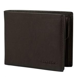 Samsonite Pánská kožená peněženka Attack 2 SLG 013 – tmavě hnědá p55175
