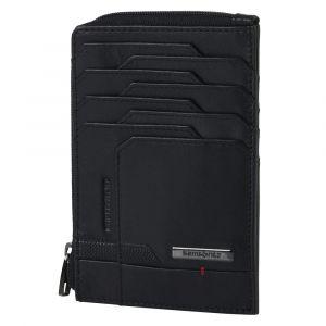 Samsonite Pánská kožená peněženka Pro-DLX 5 SLG All In One 727 RFID – černá p55188