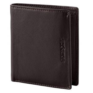 Samsonite Pánská kožená peněženka Success 2 119 – tmavě hnědá p52100