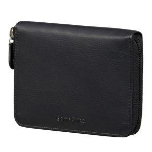 Samsonite Pánská kožená peněženka Success 2 323 RFID – černá p55211